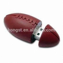 OEM Rugby Shape USB Flash Drive 8gb 16gb 32gb 64gb American football