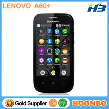 Mobile Phone Lenovooriginal Lenovo A60+ Smartphone MT6575 2.0MP Webcam GPS Bluetooth 3G WCDMA