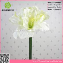 pu staminali teste grandi Clivia fiore artificiale fiori di stoffa fatte a mano