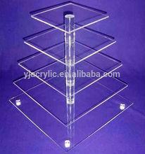 2014 HOTSALE acrylic cake display stand