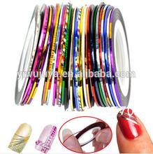 Mixed Colors Nail Tape/Nail Stickers/Nail art decoration