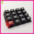 silicone condutivo controlador remoto teclado numérico teclas de função para a poltrona de massagem