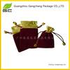Wholesale custom printing small rope packing velvet gift bag india