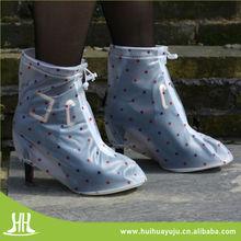 Fashion Design High Heel Waterproof Rain Boots