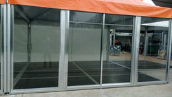 Glass Doors Aluminum Frame High-quality for Tents