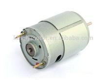 high efficient RS-555 12v small dc motor ,small dc motor for motorized toy car motor, carbon brush 12v 24v toy dc motor