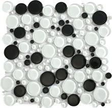 Fico mosaic GR1003,round mosaic patterns stone sink