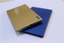 2014 Shenzhen Factory best promotional gift power bank credit card ultra thin mobile power bank 2600mah for iphone 6