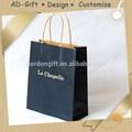 Anúncio de presente para a promoção. Como fazer um saco de papel identificador. Guangzhou fornecedor