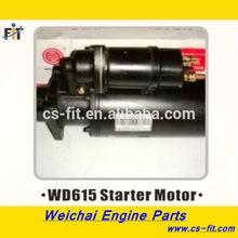 supply all weichai engine spare part /WP615 Starter Motor for weichai diesel engine