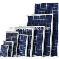 Polycrystalline solar panel 100w, Home solar energy system, cheap price!!!