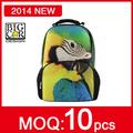 Personalizada do colégio kit saco com cordão de poliéster ativa as crianças da escola- o nome da criança