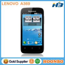 Direct Factory Wholesaler Lenovo Smart Phone Alibaba Russian Spanish China MTK6572 Android 2.3 Dual Core Lenovo A369