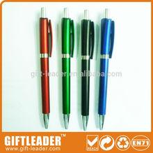 Beautiful color slim cheap promotional roller ball pen XSGP-2508