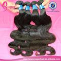 Queue de cheval de cheveux humains extension, Black star tressé cheveux, Non transformés brésilien vague de corps