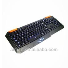 2014 new product LED backlight laptop gaming laser computer keyboard colored keys