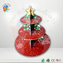 Customized adjustable plastic pedestal 7 tier round acrylic cupcake stand