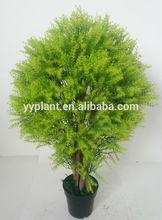0723 alibaba express shaped green tree