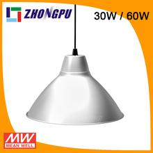 60W/30W Flower pendant lamp led high bay for parking garage