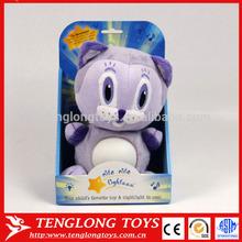 manufacturer animal LED plush toy cat