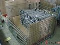 Filo contenitore, gabbia di rete metallica tipo e dazio pesante scala pieghevole cassa