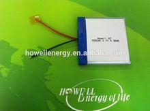 gps lithium battery 3.7v/li-polymer battery 3.7v 1450mah /3g gps tablet battery