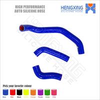 Flexible motorcycle silicone rubber radiator hose kit for 2004 Kawasaki ZZR1200 ZX 1200 Cc