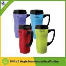 manufacturer Cheap travel mug with push lid