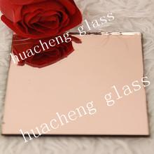 3-8mm rich yellow/pink/bronze colored mirror glass mirror glass window