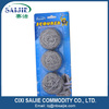 3pk Stainless steel scourer for kitchen cleaning