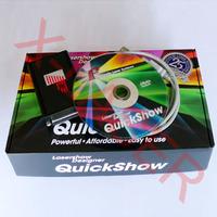 Pangolin Quick Show software system /laser show system for disco dj /DIY laser light show