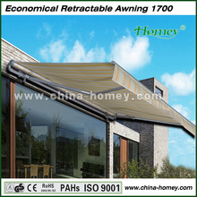 High UV protection no cassette 2014 New Design Colorful And beautiful Awning SCYP-2500 markise