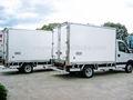 Toda la venta kia y hyundai 1.5 toneladas congelados camiones de transporte y del cuerpo del carro