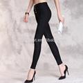 Son tasarım yüksek bel dantel pantolon, genç seksi kızın pantolon