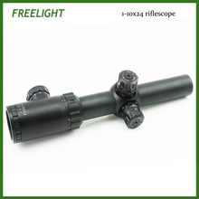 1-10x24 compact size long range scope Tactical Weapon Rifle Scope