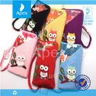 hot sale crepe cartoon mobile phone bag case