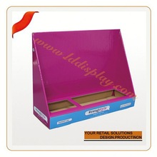 Customized tooth brush paper display rack display stands for comb