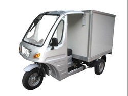Enclosed cargo three wheel motorcycle for sale