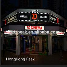 Theme parks for sale amusement ride 5d cinema