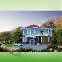 modern prefabricated luxury steel villa