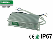 100w waterproof led driver high power