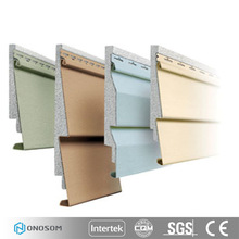 onosom factory white wooden exterior wall pvc siding for exterior wall