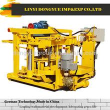 mobile brick machine manual brick press machine qt40-3a Linyi dongyue imp&exp co.,ltd