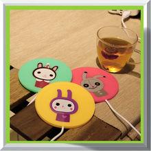 Hot sale mini mat usb coffee pad warmer coaster