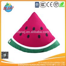 Watermelon Shape Plush Pillow