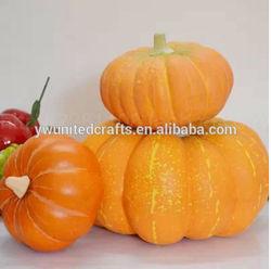 Home decorative Artificial pumpkins/Fresh artificial pumpkins/decorative artificial pumpkins