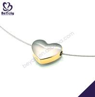 Christmas gift pendant jewelry heart charm slide