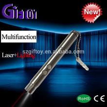 multipurpose 3 in 1 laser pointer led flashlight pen