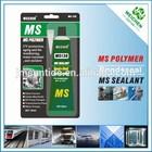 Environment friendly elastomeric MS sealant adhesive glue fabric plastic
