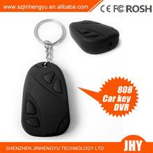 car key Mini hidden Cam Recorder mini dvr 808 car key chain micro camera
